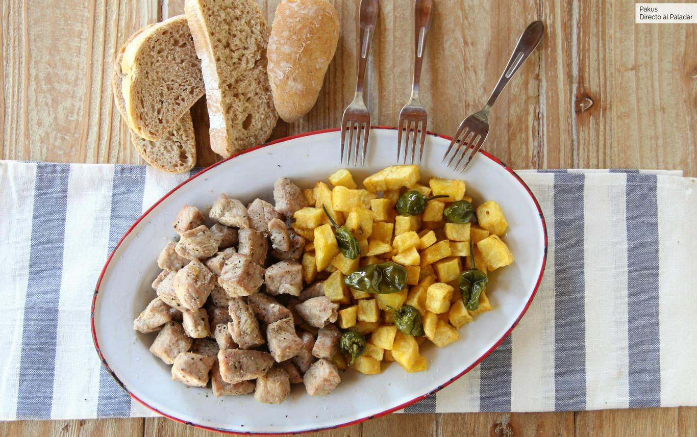Receta de raxo gallego, la receta de lomo de cerdo con patatas que entusiasma a todo el que lo prueba