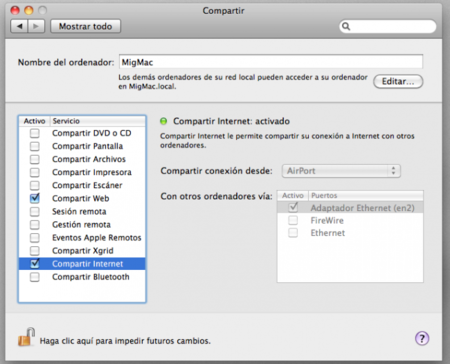 compartirMac