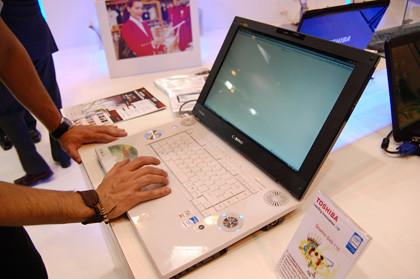 SIMO 2007: Toshiba Qosmio G40 y Portegé R500