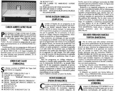 MSX Extra
