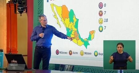 Semaforo Covid Mexico 26 Marzo 5