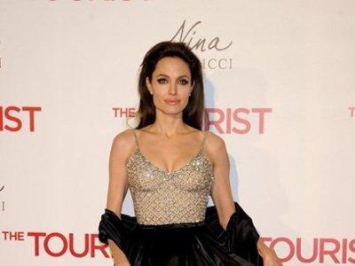 El look de Angelina Jolie en la premiere de Madrid