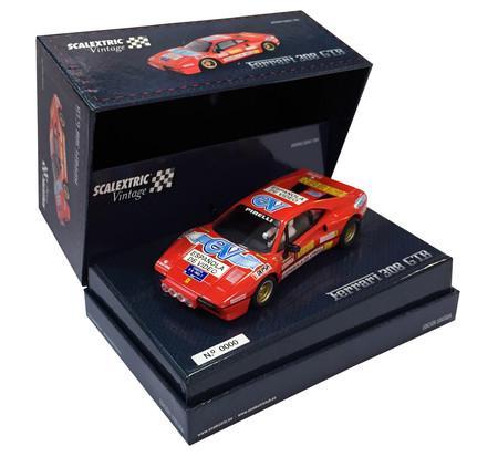 Scalextric Ferrari 308 GTB Zanini Vintage Caja 1