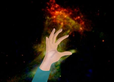 """Cuando la NASA dio con """"la mano de Dios"""" combinando 14 de datos y """"jugando"""" con rayos X"""