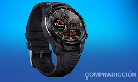 El reloj inteligente TicWatch Pro 4G/LTE ahora sí que es un chollazo en Amazon: lo tienes 87 euros más barato y a su precio más bajo hasta la fecha por 171 euros