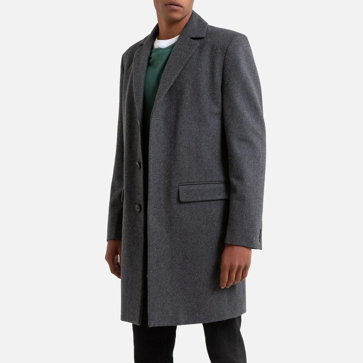 Abrigo de lana La Redoute