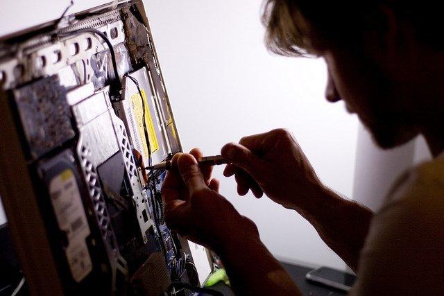 Repairing iMac