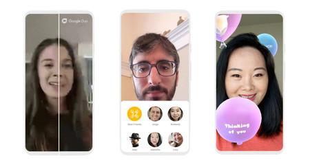 Google Duo anuncia sus novedades: más calidad con menos datos, toma de fotos, más participantes y nuevos efectos