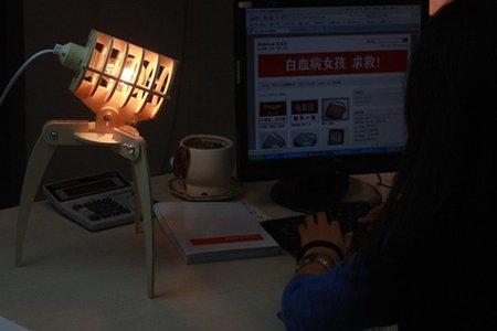 Invader, una lámpara inspirada en La Guerra de los Mundos