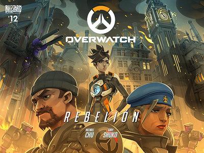 El nuevo cómic de Overwatch ya se encuentra disponible y se llama Uprising o Rebelión