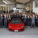¿Aún no  has visto uno? Ya son 5.000 los Lamborghini Aventador vendidos en el mundo