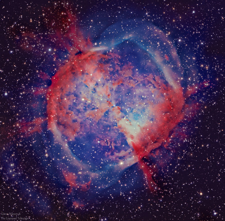Dumbbell Nebula M27 Goran Nilsson The Liverpool Telescope