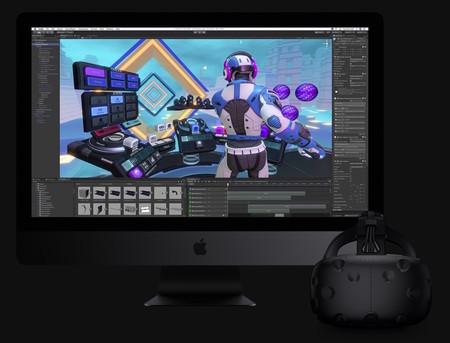 Unity en el nuevo iMac Pro con Realidad Virtual