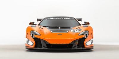 McLaren 650S GT3, el coche de competición debutó en Goodwood