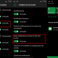 Notificaciones privadas en el Action Center, otra de las novedades de Windows 10 Mobile