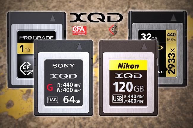 Tarjetas XQD, todo lo que necesitas saber sobre las memorias más modernas y rápidas del mercado