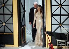 Reem Acra viste a Melania Trump en la Cena de Gala de Union Station