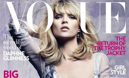 La 25 portada de Kate Moss para Vogue UK