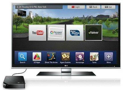 LG Smarty dispuesto a convertir tu televisor en un modelo conectado