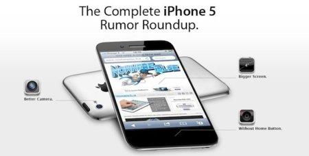 Infografía con todos los rumores del iPhone 5
