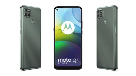 Diseño oficial Moto G9 Power