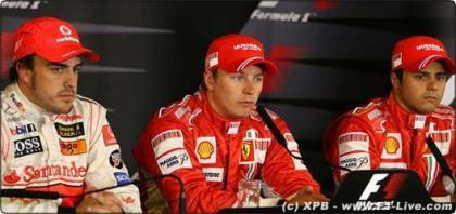 La seguridad de la Fórmula Uno según el trio de cabeza en Nürburgring