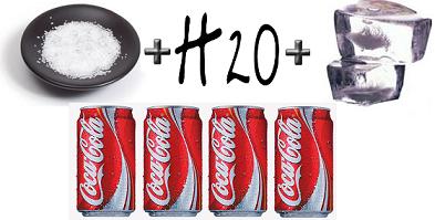 Cómo enfriar una lata de Coca Cola en cinco minutos