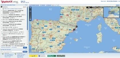 Guías de 34 países europeos en Yahoo! Maps