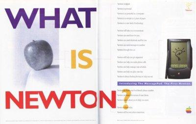 Newton, una mirada al tatarabuelo del iPhone y el iPad