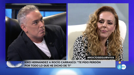Rocío Carrasco Kiko Hernández