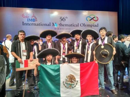 México se trae el oro, y otras medallas, de la Olimpiada Internacional de Matemáticas