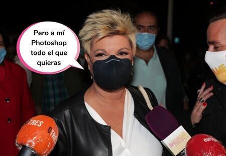 Terelu Campos explica el motivo por el que jamás se hará ninguna cirugía estética en la cara (Carla Barber, tú no leas)