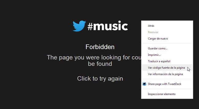Aparecen nuevos detalles de Twitter Music en su código fuente