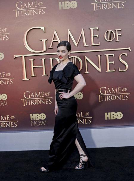 Emilia Clarke vestido Juego De Tronos