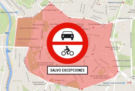 Madrid Contaminación Prohibición Diesel 2020