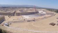 Imagen de la semana: la base y primeros cimientos del Campus 2, a vista de drone