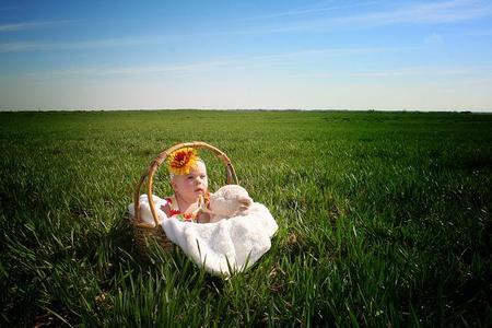La foto de tu bebé en Abril: bebés en primavera