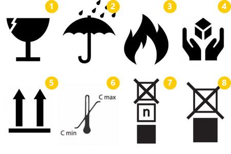 Qué Significan Los Símbolos Que Aparecen En Las Cajas De