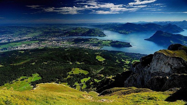 paisaje suiza