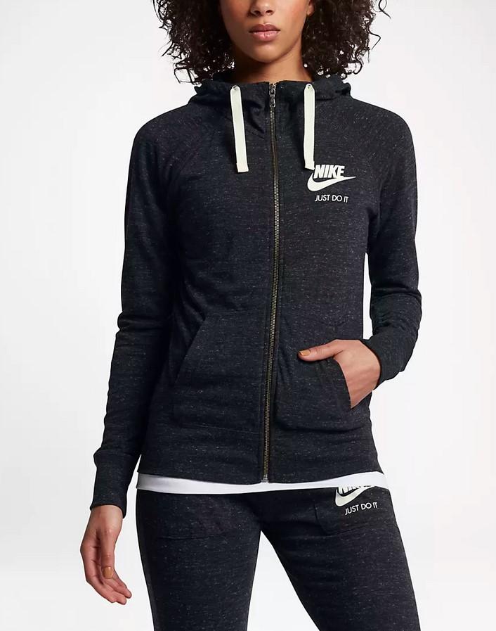 Sudadera con capucha y cremallera completa - Mujer Nike Sportswear Gym Vintage
