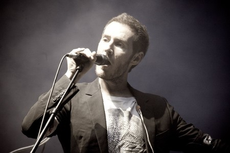 Robert Del Naja Performing With Massive Attack In Sydney 2010