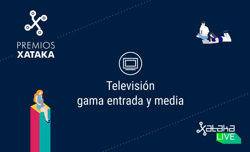 Mejor televisor de gama de acceso y media: vota en los Premios Xataka 2018