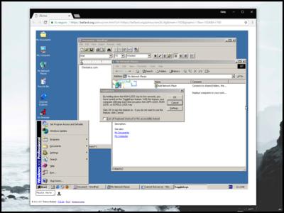 Ahora puedes ejecutar Windows 2000 en tu navegador gracias al poder de JavaScript