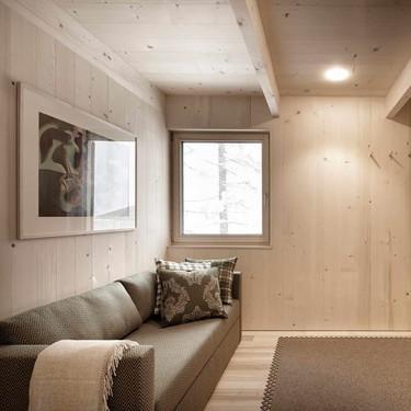 Islen es una casa ecológica y sostenible de estilo Japandi en plenas montañas austriacas
