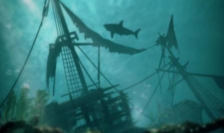 Luchar contra tiburones en 'Assassin's Creed IV: Black Flag' mola mucho