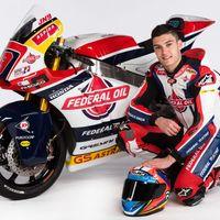 El Gresini Racing de Moto2 se presenta con Jorge Navarro a la cabeza