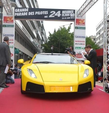 Superdeportivo español GTA Spano en Le Mans
