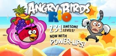 Angry Birds Rio se actualiza para añadir 24 nuevos niveles y los poderes