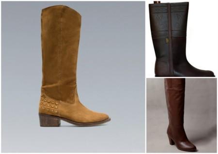 Claves de estilo para ir de shopping las botas no pueden for Botas montar a caballo