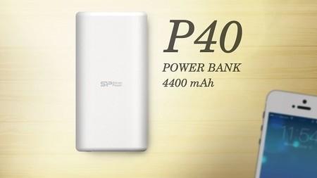 Silicon Power presenta nueva batería portátil, Power P40